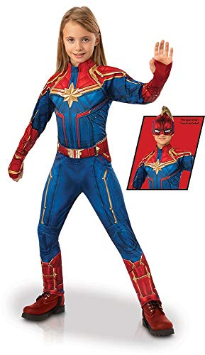 Rubie's Captain Marvel Children's Deluxe Hero Suit,
