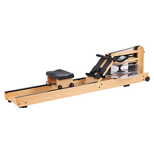 Water Rowing Machine Home Wood Gyms Training Equipment Sports Exercise Machine Fitness Indoor Water Rower with Monitor Modern Design