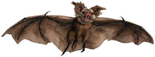 Dracula Vampire Bat - Forum Novelties Batcave Flying Vampire Dracula Brown Bats Party Decoration DxFFFD;cor