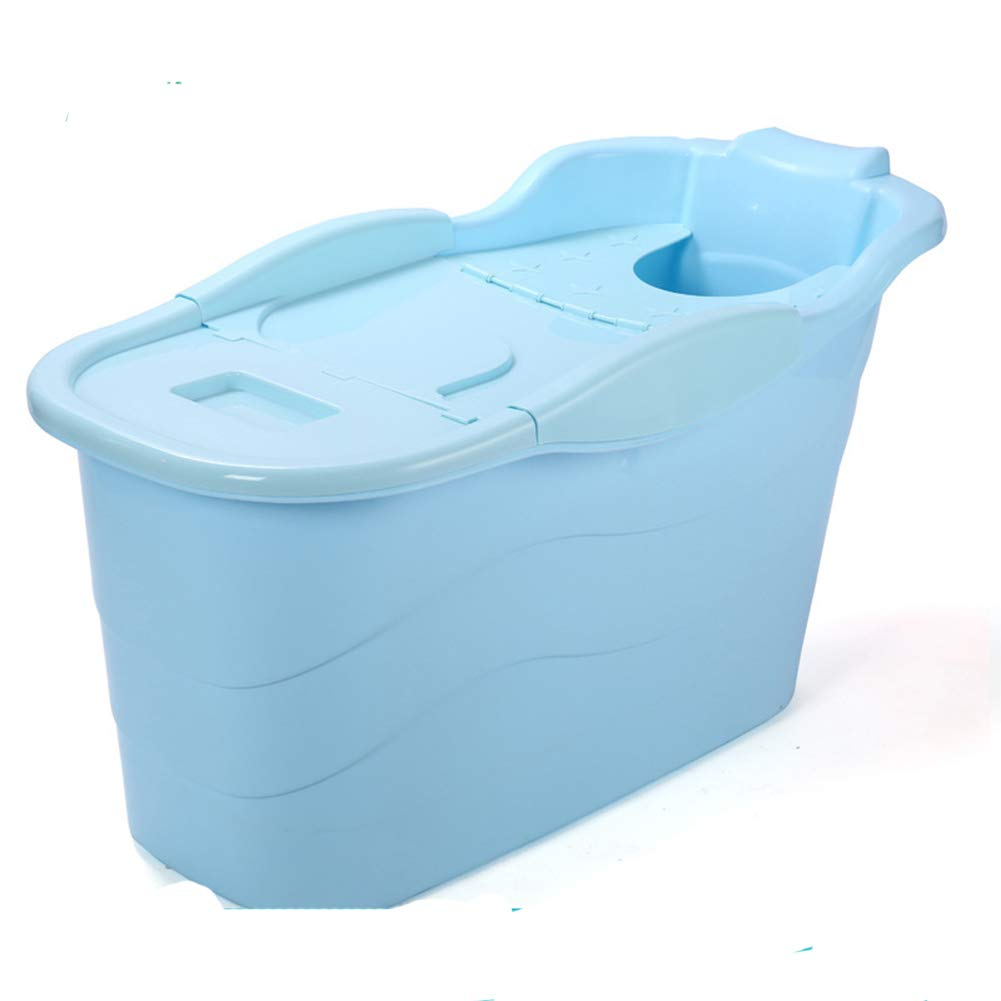 Pieghevole Vasca da Bagno Pieghevole per Adulti in plastica Ispessita per Bambini plastica Misura 0.00watts Green da Viaggio per Esterni Portatile per Adulti Multifunzionale YYFZ