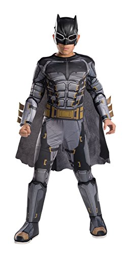 Tuxedo Mask Costume Cape (Rubie's Costume Boys Justice League Deluxe Tactical Batman Costume, Medium, Multicolor)