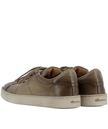 SANTONI Sneakers Uomo MBGU20374PASMG00E50 Pelle Marrone