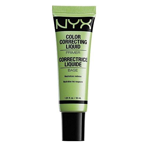 NYX Cosmetics Color Correcting Liquid Primer Green