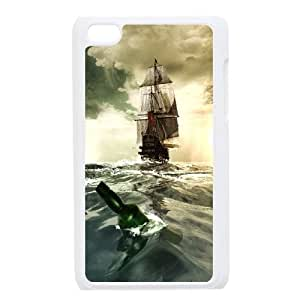 James-Bagg Phone case Tall sailing protective case FOR IPod Touch 4th FHYY459999