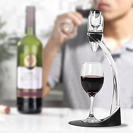 Decantador De Vino De Lujo - Kit De Accesorios De Vino Con Decantador De Aireador De Vino, El Mejor Regalo Para Amantes Del Vino Y Entusiastas