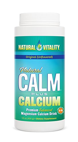 Natural Vitality Natural Calm Plus Calcium Diet Supplement, 16 Ounce