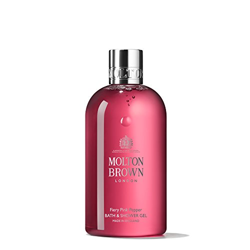 Pink Gel Shower Gel - Molton Brown Bath & Shower Gel, Fiery Pink Pepper, 10 oz.