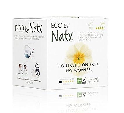 Naty - Compresas con alas modelo Súper Naty, 4 x 13 unidades