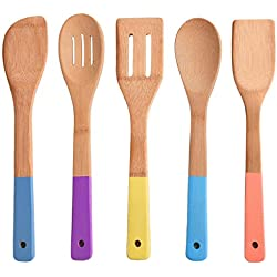 Natural Cooking Bamboo Spoons Set