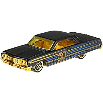 Amazon Com Hot Wheels 50th Anniversary Black Gold Series Special