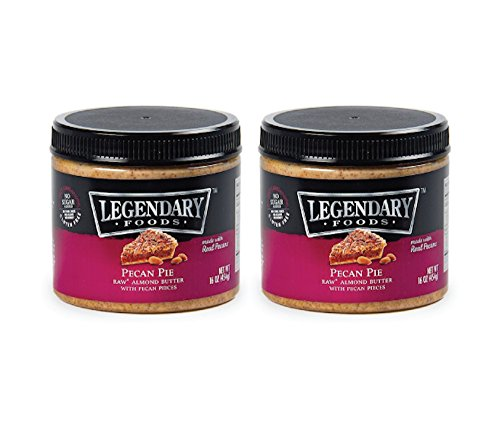 Legendary Foods Pecan Pie Keto Almond Butter- Natural Ingredients, Rich In Protein. Healthy Spread - No Added Sugar or Artificial Flavors, Gluten Free (16oz 2 - Homemade Butter Almond