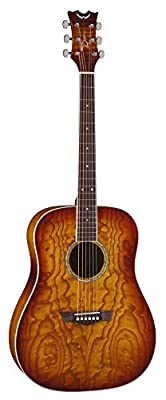 Dean AXS Dreadnought Quilt Acoustic Guitar by Dean