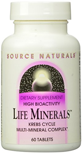 Source Naturals Life Minerals, Krebs Cycle Multi-Mineral Complex,60 Tablets