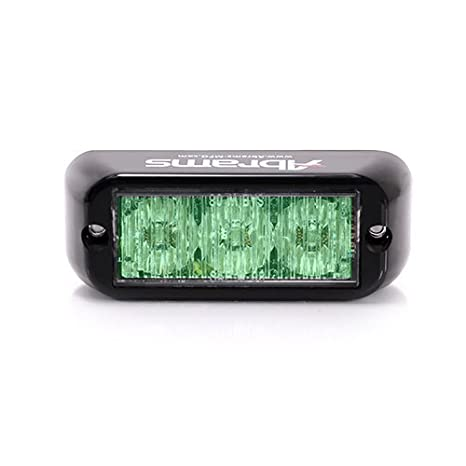 Amazon.com: Luces LED para parrilla de Abrams, Verde: Automotive