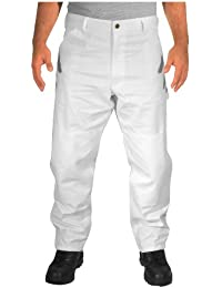 Double Knee Painter Pants - White (48x36)