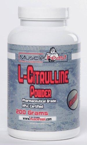 L-citrulline 200 grammes (7 onces)