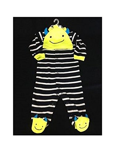 CARTERS MY FIRST HALLOWEEN SLEEP & PLAY AND HAT SET (First Halloween Outfit)