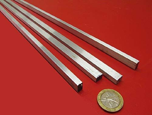 JumpingBolt 6061 T651 Aluminum Bar, 1/4'' (.250'') Thick x 3/8'' Wide x 72'' Length, 5 Units Material May Have Surface Scratches 72' 6061 Aluminum Flat Bar