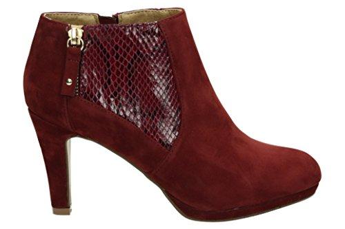 Mariamare 61305, Zapatos De Tacón, Mujer Rojo