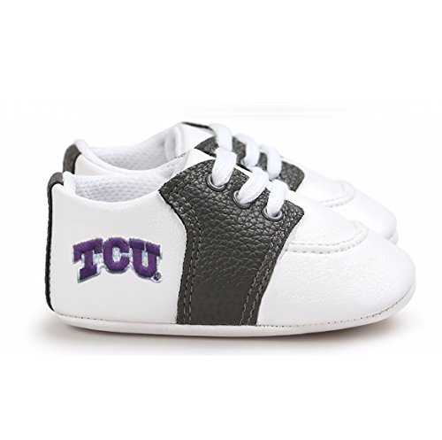 Future Tailgater TCU Horned Frogs Pre-Walker Baby Shoes - Black ()