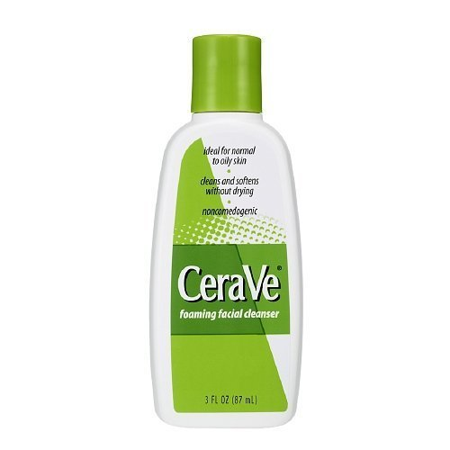 CeraVe Foaming Facial Cleanser 3 fl oz  package of 2