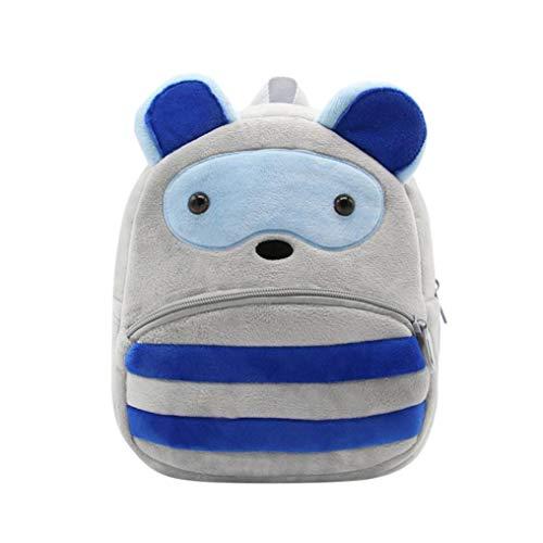 Toddler Kids Animal Body Daypacks School Corduroy Bag Totes Bag Backpack Backpack Cross Bags Travel Cute BANAA C Bag Plush Cartoon qwX0zXxrA