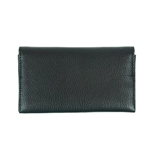 3ca48149620f1 Coach Mens Universal Phone Case Sport Calf Leather Wallet Black ...