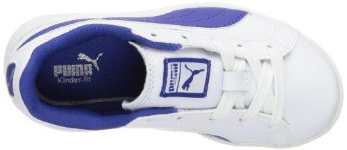 Puma Match Fs Jr - Zapatillas Blanco (Weiß (white-mazarine blue 04))