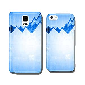 Mountains - mountain peaks ... cell phone cover case iPhone5