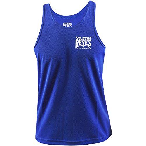 (Ringside Cleto Reyes Boxing Jersey, Blue,)