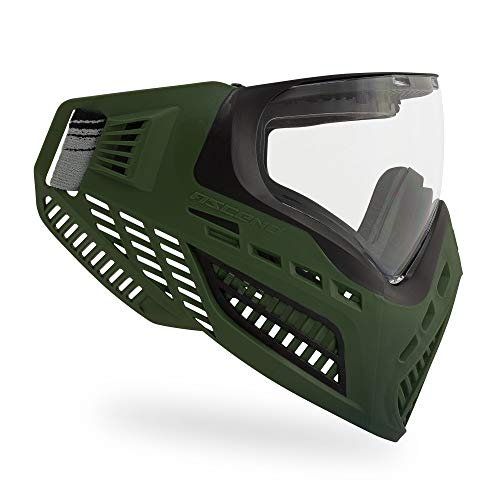 Virtue VIO Ascend AF Paintball Mask/Goggle with Anti-Fog Lens - Olive ()
