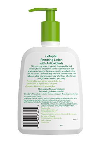 41dTROWrdvL - Cetaphil Restoring Lotion with Antioxidants for Aging Skin, 16 oz. Bottle