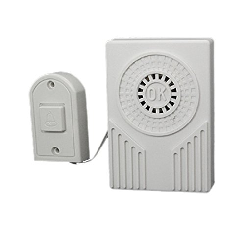 UXcell Battery Powered Electronic Plastic Doorbell Chime ...