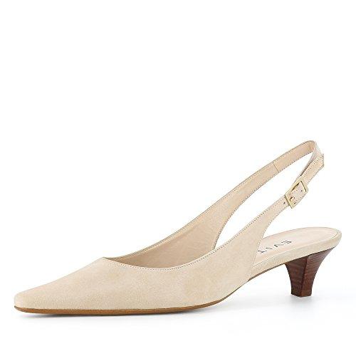 Evita Shoes Lia - Zapatos de vestir de Piel para mujer beige claro