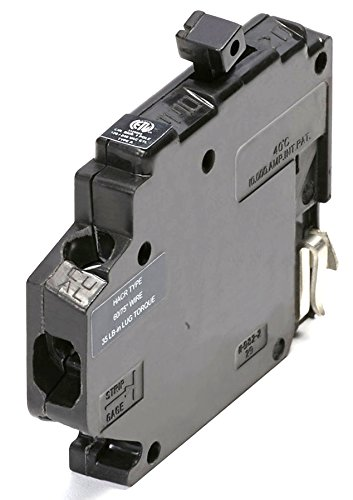 Circuit Breaker Clip (UBITBA120R-New Challenger MH120R Type A Replacement.  One Pole 20 Amp Right Clip Circuit Breaker Manufacturered by Connecticut Electric.)