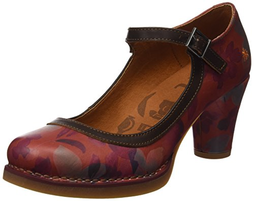 Art St.Tropez, Women's Heel Shoes Orange (Fantasy Petalo)
