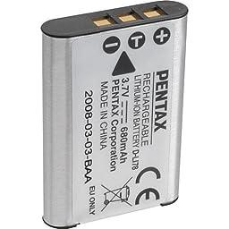 Pentax D-LI78 Rechargeable Li-Ion Battery (Retail Packaging)
