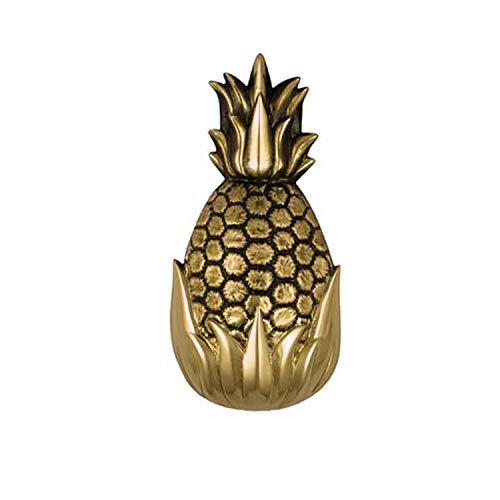 Hospitality Pineapple Door Knocker - Brass (Standard Size)