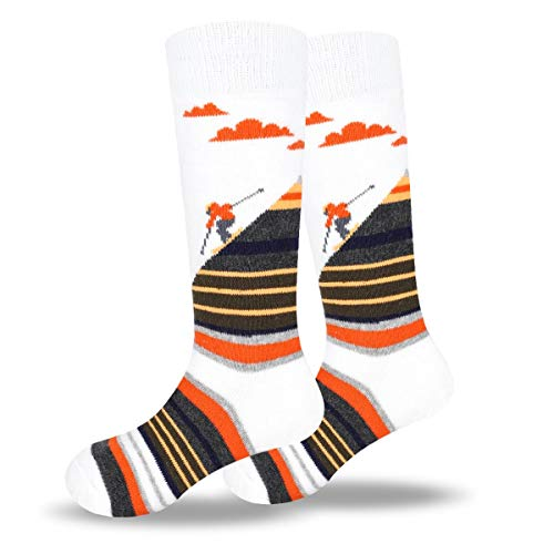 Ski Socks Kids Winter Warm Breathable Socks for 3-13 Year Old Boys and Girls (2 Pairs or 3 Pairs)