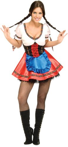 Rubie's Costume Beer Garden Girl Costume, X-Small, X-Small (Beer Garden Girl Costume)