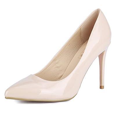 IDIFU Women's IN4 Classic Pointed Toe Stiletto High Heel Dress Pump