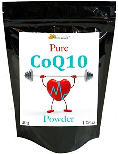 COQ10 (co Enzyme q10) Powder 30g Bag, 300 Servings, 100mg per Serving