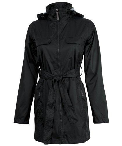 - Charles River Apparel Women's Nor'Easter Rain Jacket, Black, Large