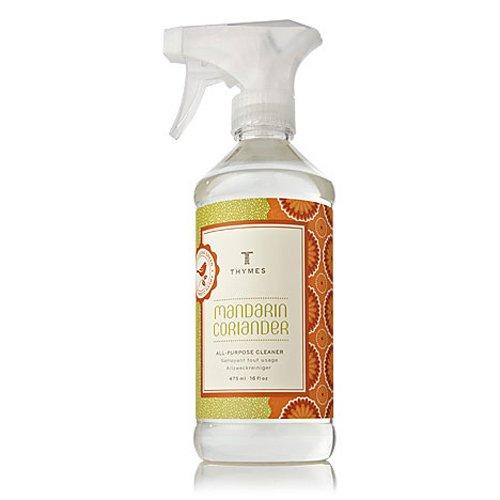 Thymes - Mandarin All-Purpose Deodorizing Cleaner - 16 Fluid (Thymes Mandarin Coriander)