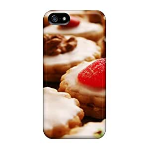 For Iphone 5/5s Protector Case Frost Topped Cream Filled Cookies Phone Cover
