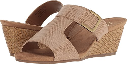 Aerosoles A2 by Women's Lemon Cake Tan Snake 6 B US