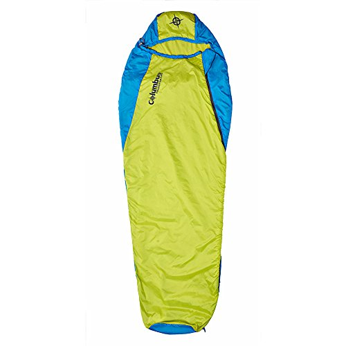 Columbus Misti 60 L Saco de Dormir, Unisex Adulto, Amarillo, 210 x 80/50 cm: Amazon.es: Deportes y aire libre