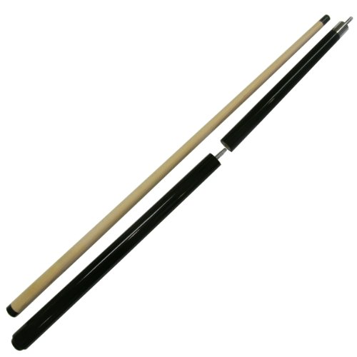 Iszy Billiards 58-Inch Jump Break Pool Cue Billiard Stick with Quick Release Joint (3-Piece), Black, (Jump Cue Quick Release Joint)
