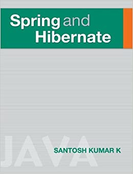 And hibernate santosh kumar pdf spring k