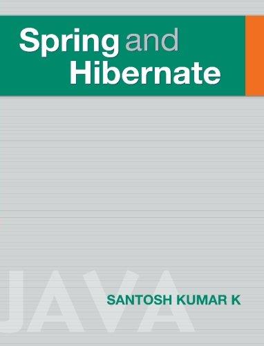 Spring Hibernate Pdf
